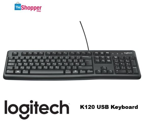 Logitech K120 USB Keyboard Singapore