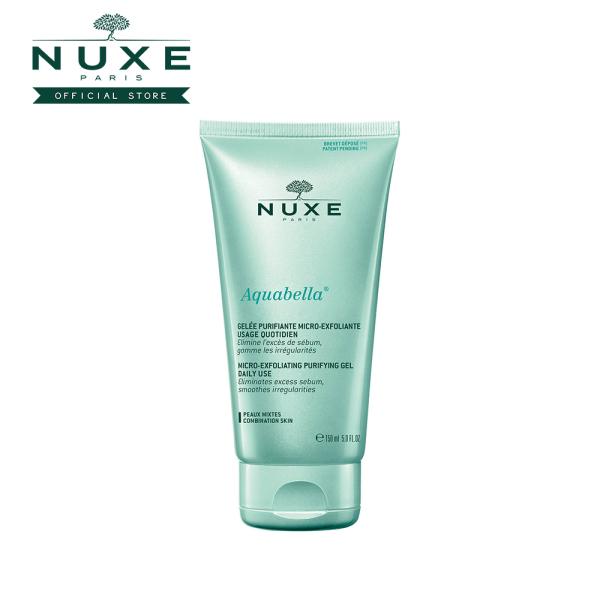 Buy NUXE Aquabella Micro-Exfoliating Purifying Gel (150ml) Eliminates Excess Sebum [Combination Skin] Singapore