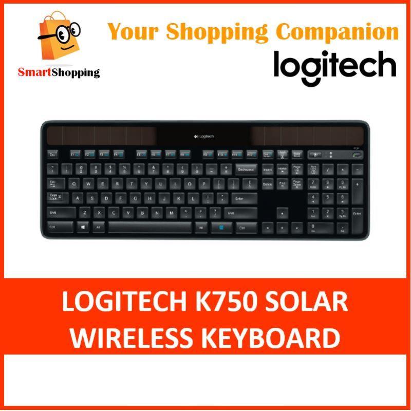 Logitech K750r Solar Wireless Keyboard USB Compatible with Windows 3 years SG Warranty Singapore