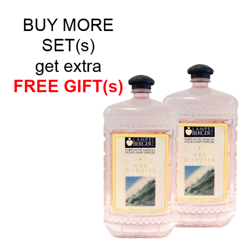 Buy LAMPE BERGER LB ESSENTIAL OIL 2L SET (2 BOTTLES) - MER DIROISE (海洋玫瑰) Singapore