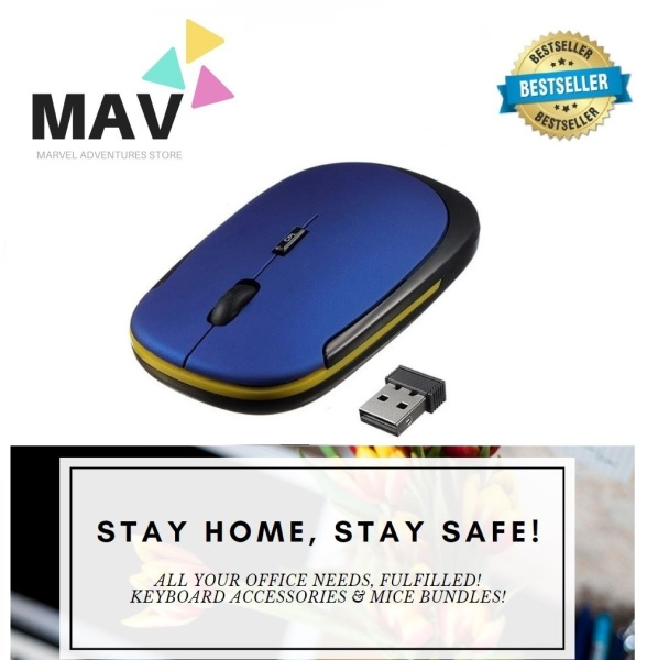 MAV Store - *Shipped Locally! Lowest Price in SG!* 3500 OEM Rapoo Inspired Design Ergonomic and Fashionable Slim Wireless 2.4Ghz Mouse *2020 NEW STOCK ARRIVAL! COMES WITH BOX!*