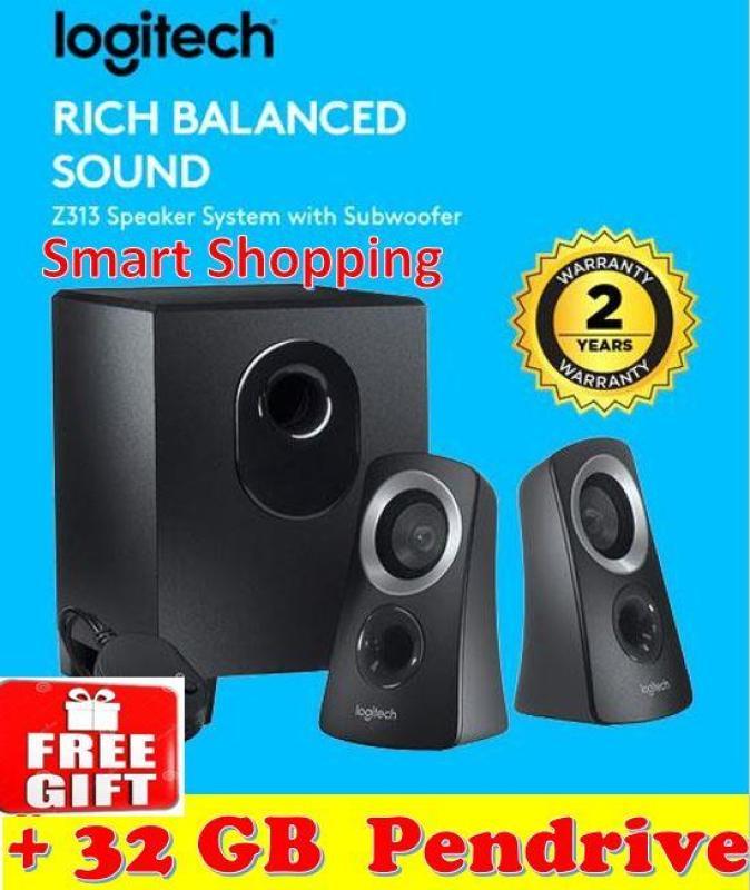 Logitech Z313 Speaker System (980-000413)  PC Laptop Spk Z 313 Singapore