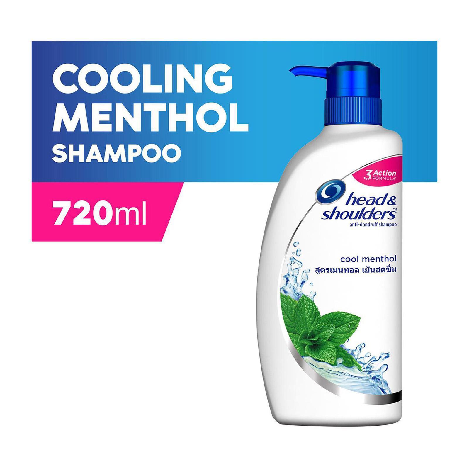 Head & Shoulders Cool Menthol Anti-Dandruff Shampoo 720ml