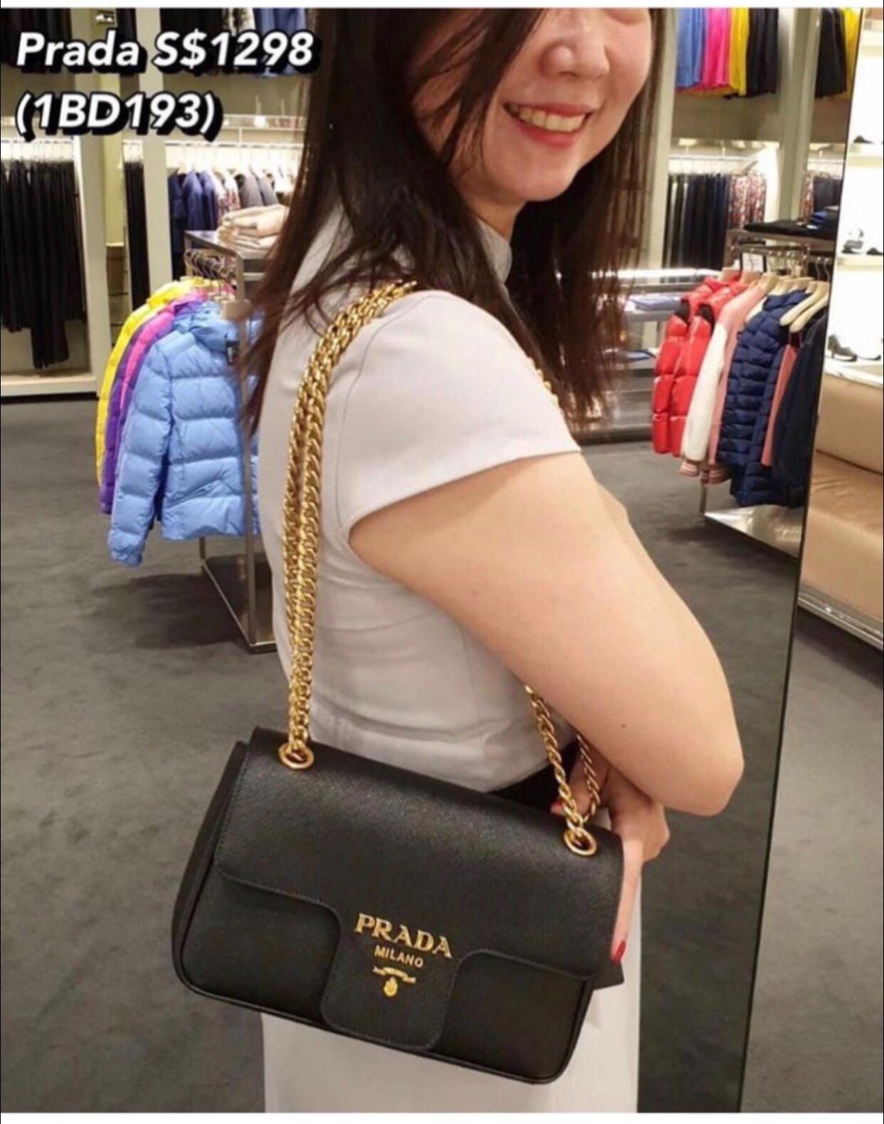 Prada 1BD193 Shoulder Bag