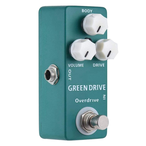 MOSKYAUDIO Green Drive Overdrive Mini Single Guitar Effect Pedal True Bypass Guitar Parts & Accessories