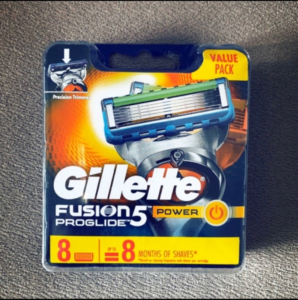 Buy Gillette Fusion Proglide Power Cartridges(Pack of 8) Singapore