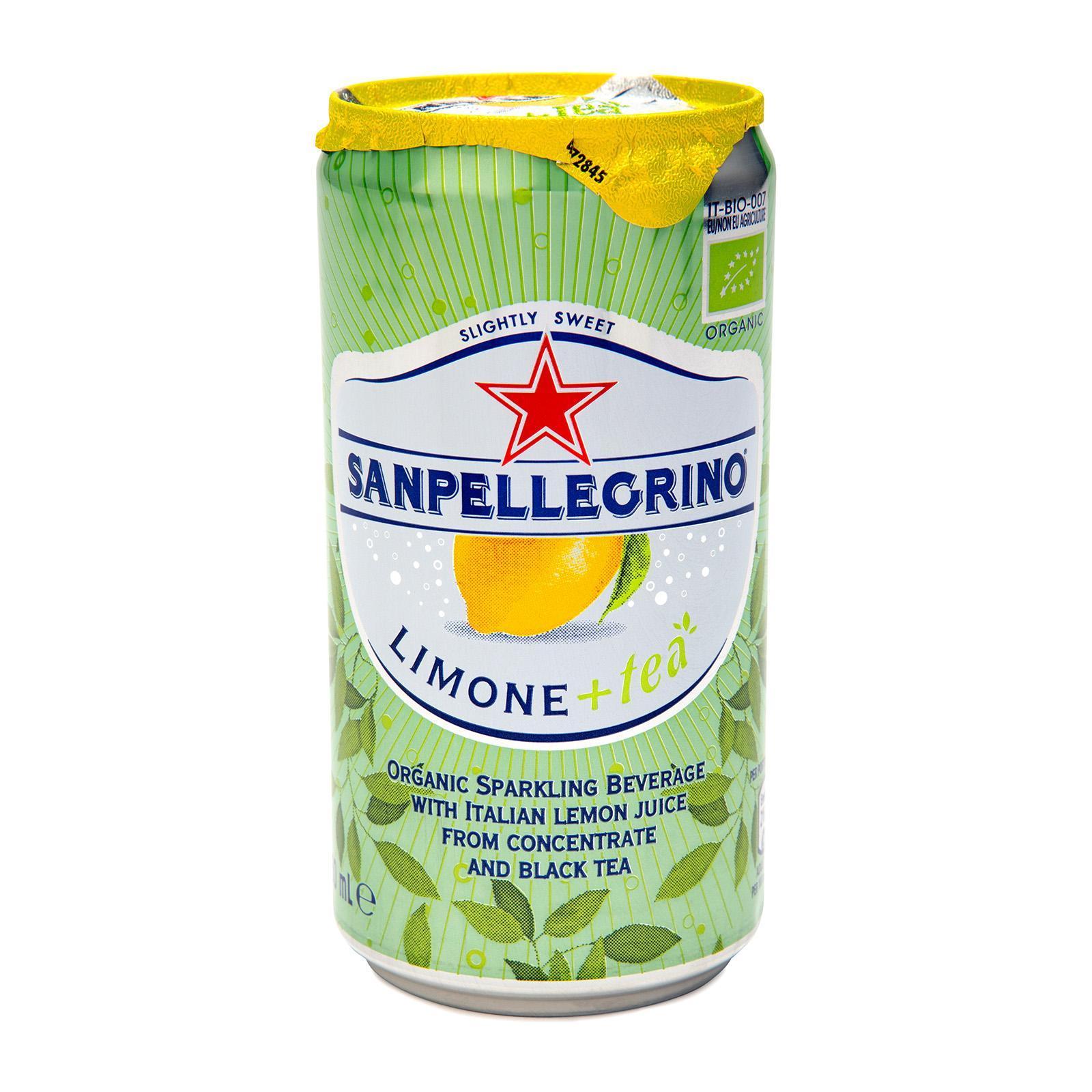 San Pellegrino Limone+Tea Organic Sparkling Lemon Tea