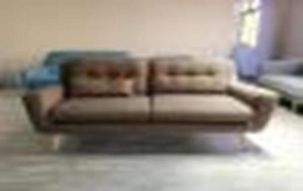 Gemini Fabric 3 Seaters Sofa SFF239