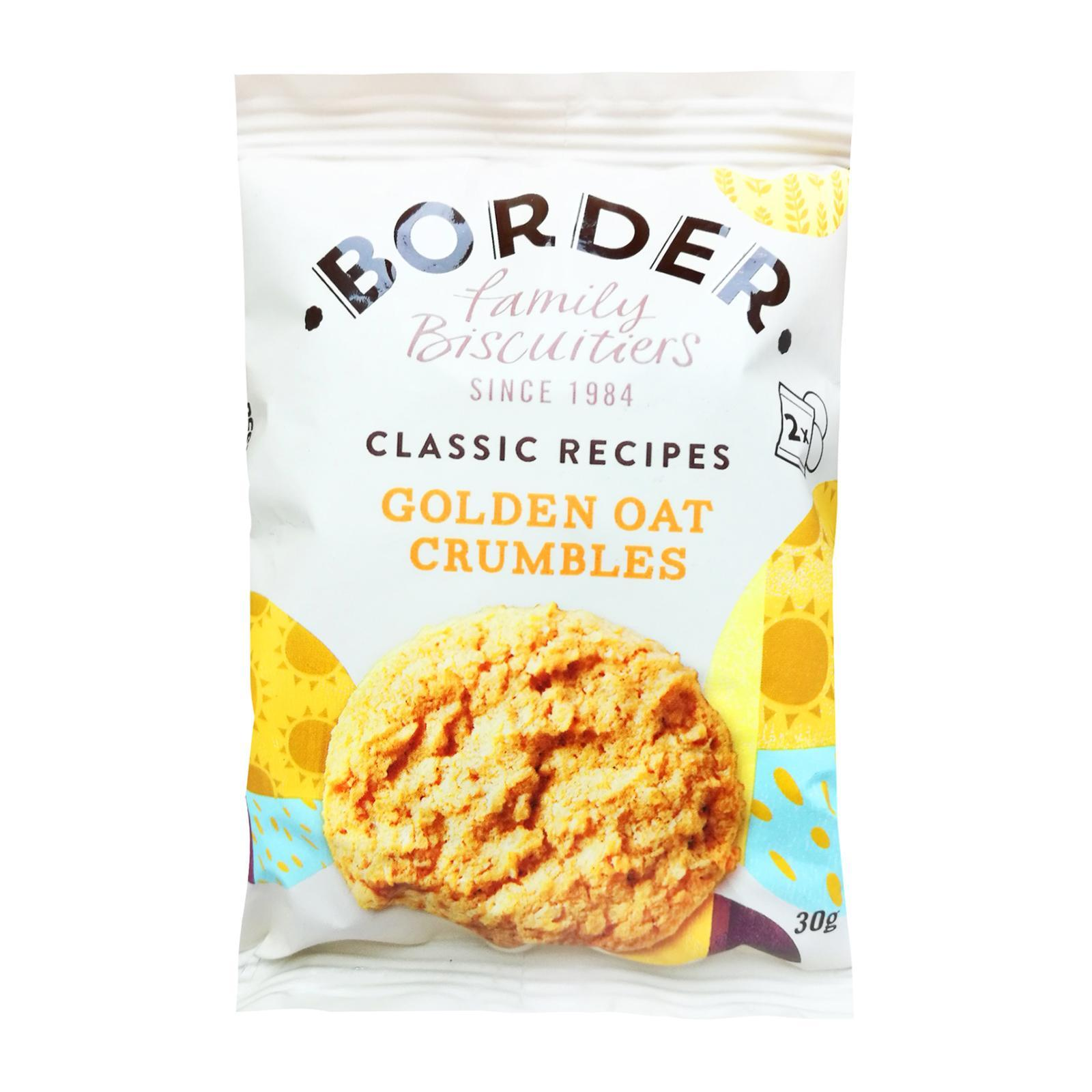 Border Biscuits Golden Oat Crumbles