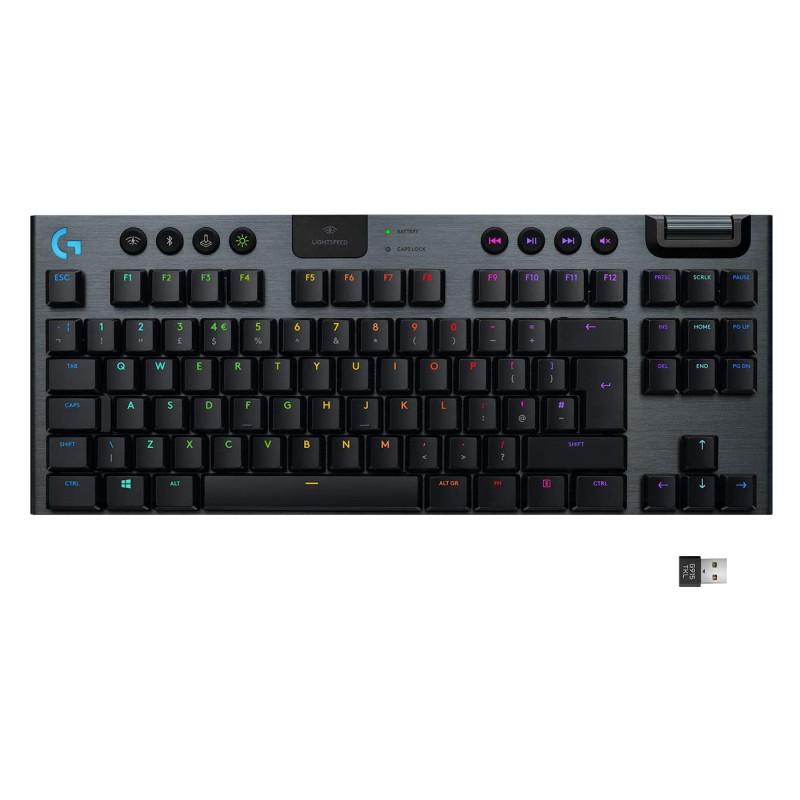 Logitech G915 TKL Tenkeyless Wireless Mechanical Gaming Keyboard All Models Singapore