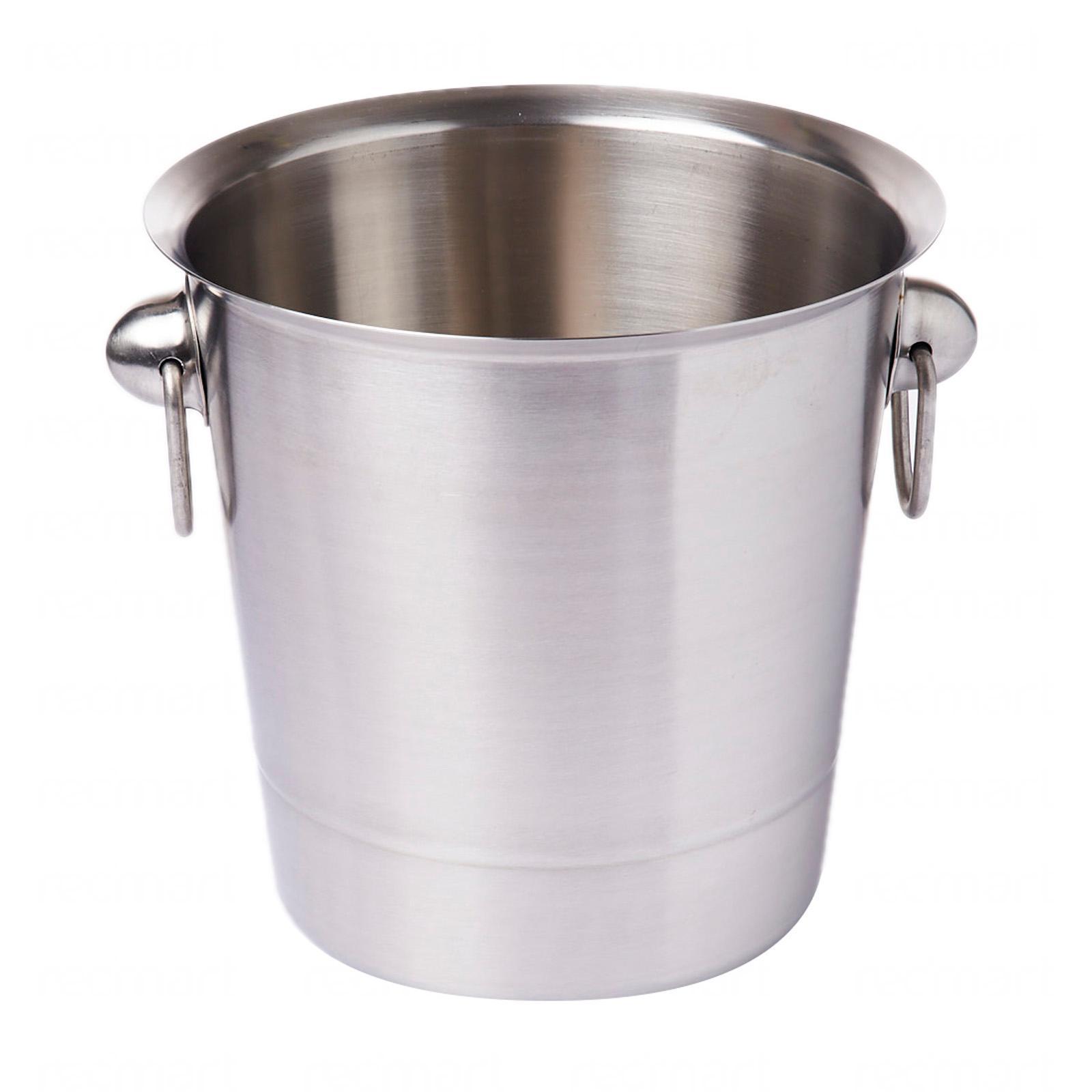 Pujadas Stainless Steel Wine Bucket With Handles 19 CM