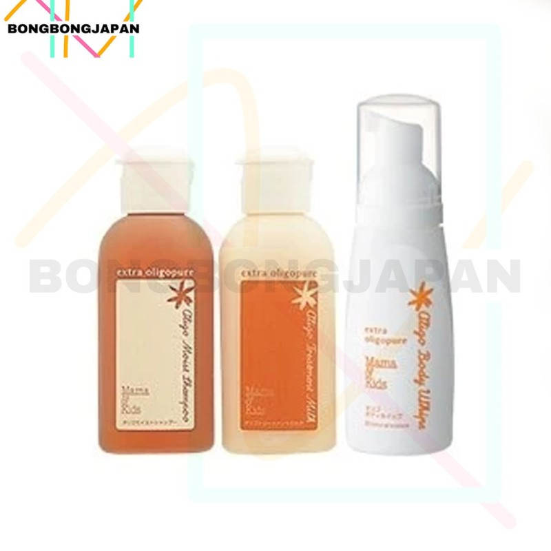 Buy Natural Science Mama & Kids Oligo Set Of Body Whipe 80ml  / Hair Moist Shampoo 43ml / Hair Treatment Mlik 43ml Singapore