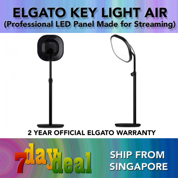 Elgato Key Light Air Professional LED Panel with 1400 Lumens