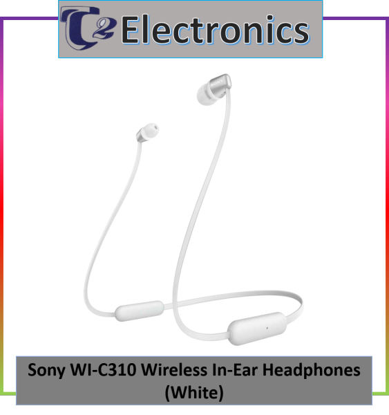 SONY WI-C310 Wireless In-ear Headphones - T2 electronics Singapore