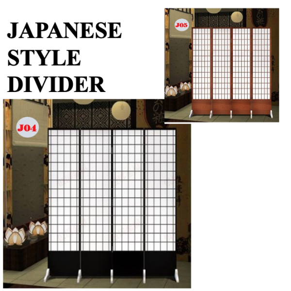 [JAPANESE DIVIDER]Partition Folding Screen Room Divider Solutions Fengshui partition privacy seperate