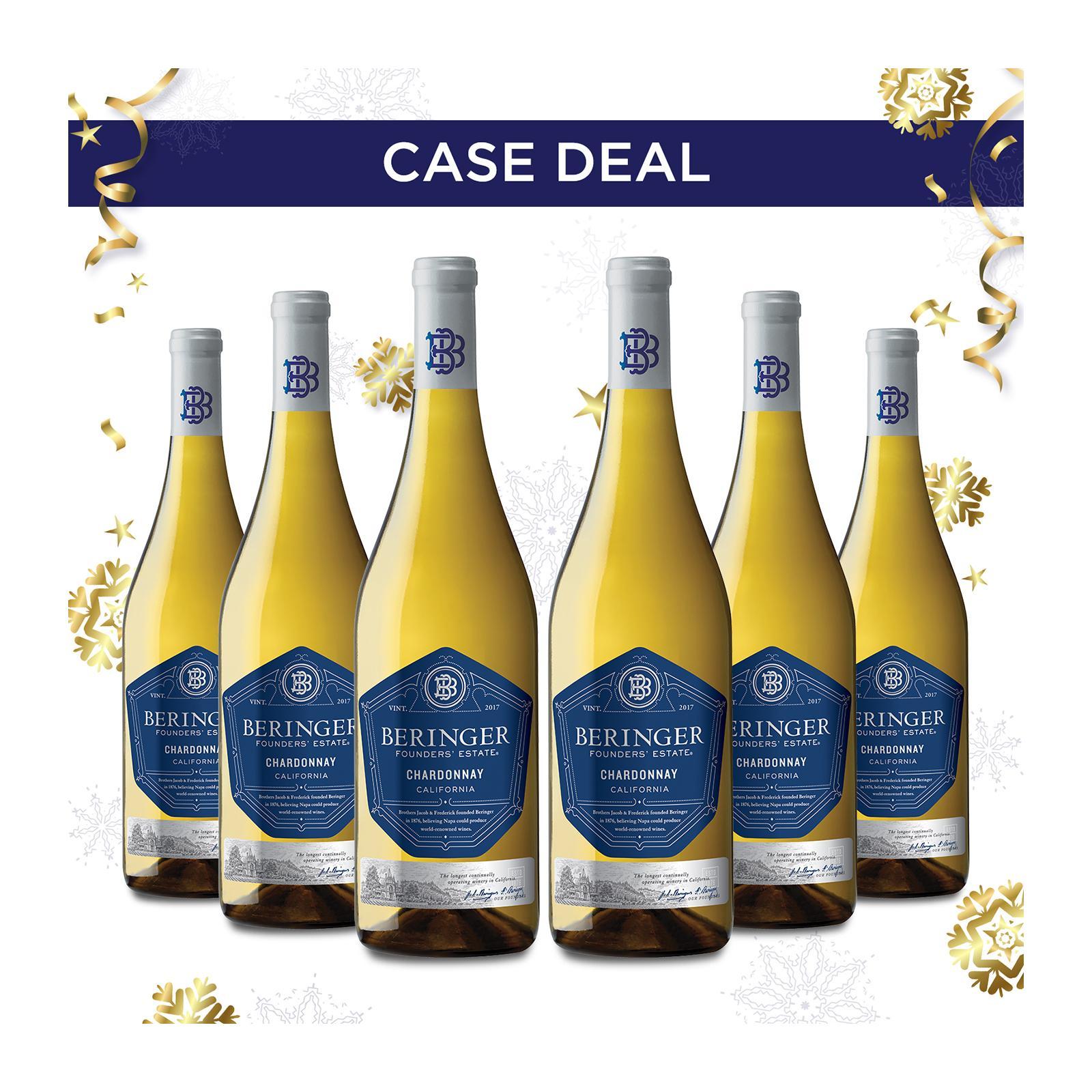 Beringer Founders Estate Chardonnay - Case