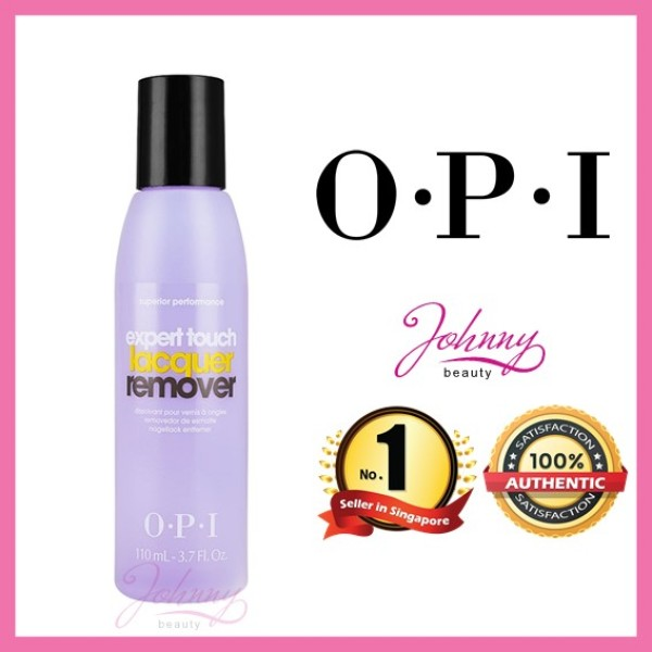 Buy OPI EXPERT TOUCH LACQUER REMOVER 110ml Singapore