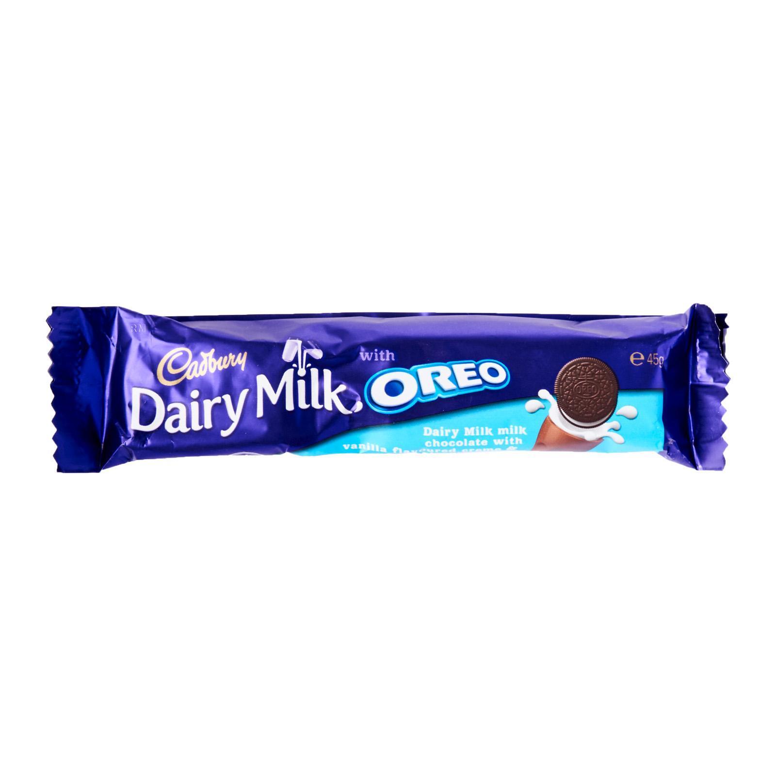 CADBURY Milk Chocolate With Vanilla & Oreo 45g