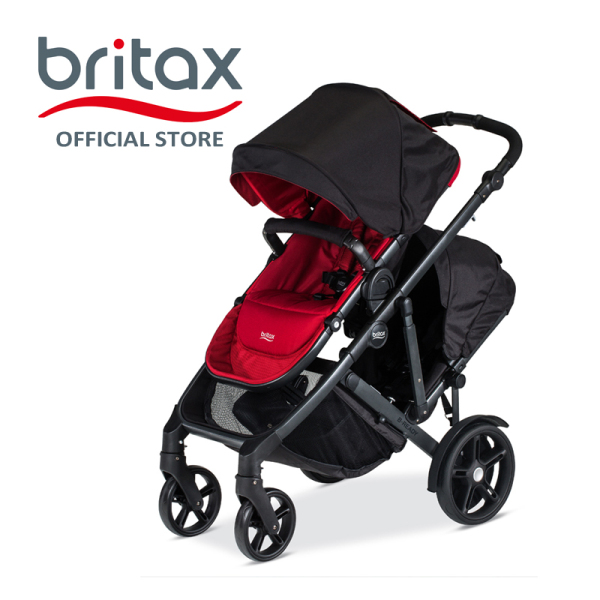 Britax B-Ready Double Stroller | Pram Singapore