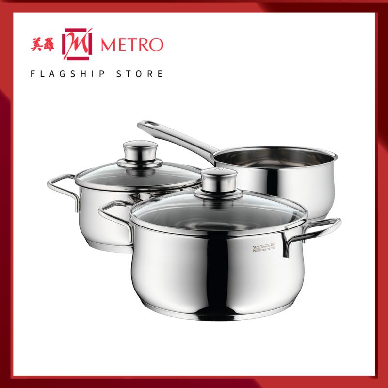 WMF Diadem Plus 3pc Cookware Set 0730299990 Singapore