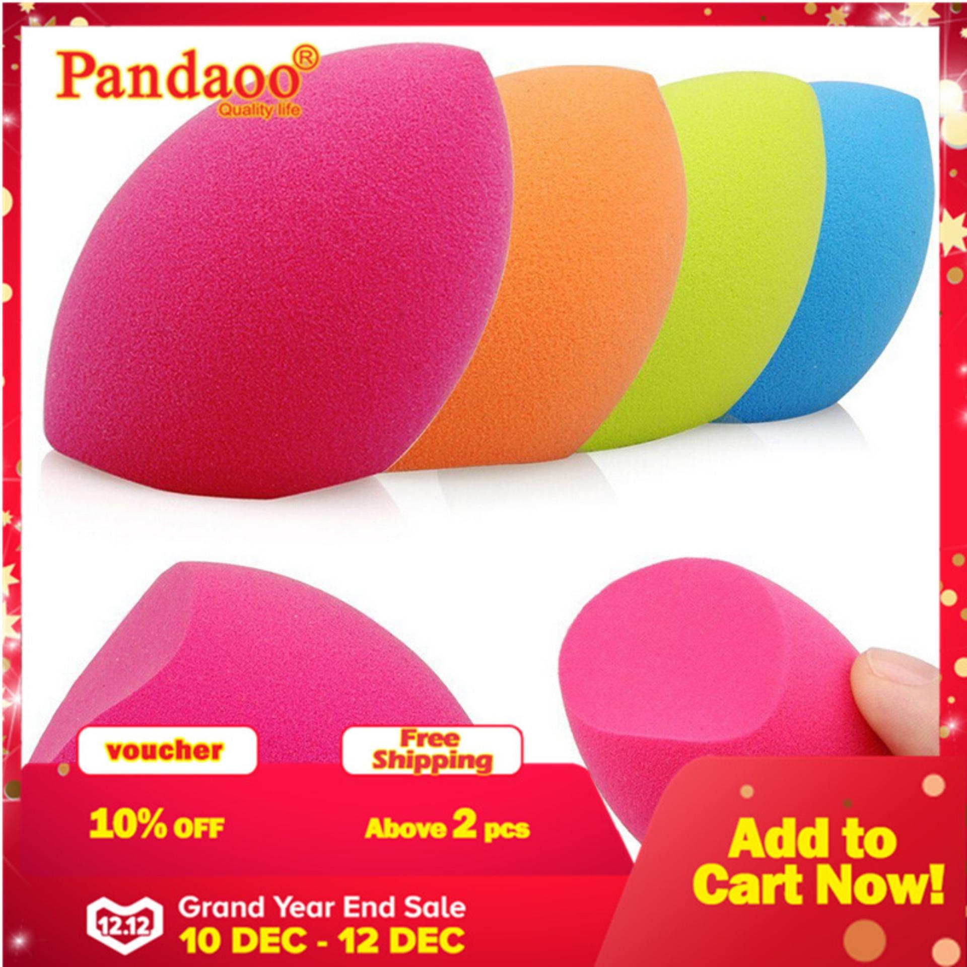 4pcs Makeup Sponge Blender Foundation Powder Puff Flawless Blending Cosmetic Puff Makeup Tools Beauty Egg Facial Make Up Sponge By Pandaoo Store.