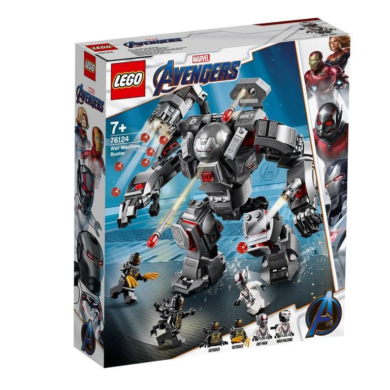 Lego 76124 Marvel War Machine Buster By Belrion Online Toy Store.