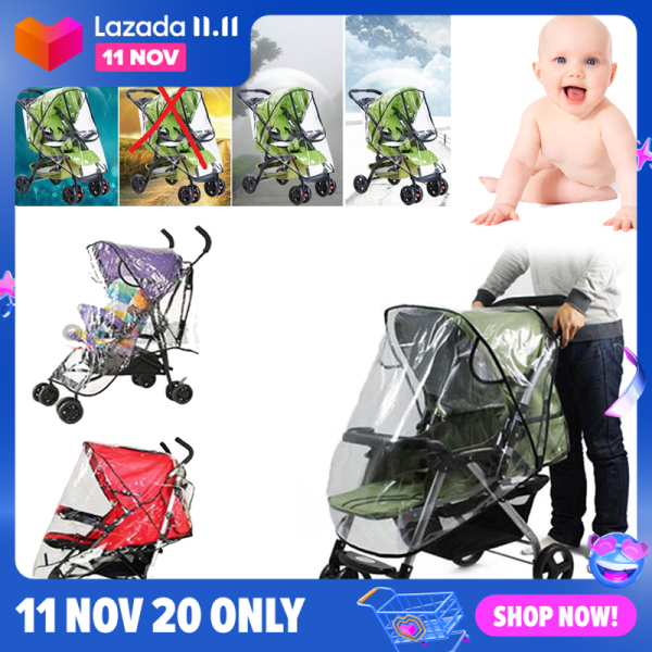 Accessories Stroller Rain Cover for Stroller Baby Baby Stroller Accessories Baby Products Outdoor Universal Baby Stroller Accessories Singapore