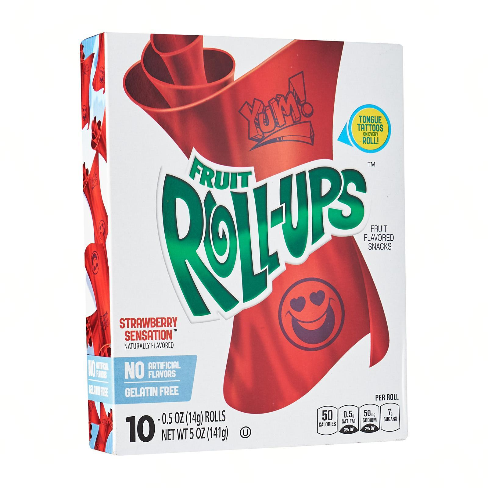 Betty Crocker Fruit Roll-Ups Fruit Flavored Snacks Strawberry