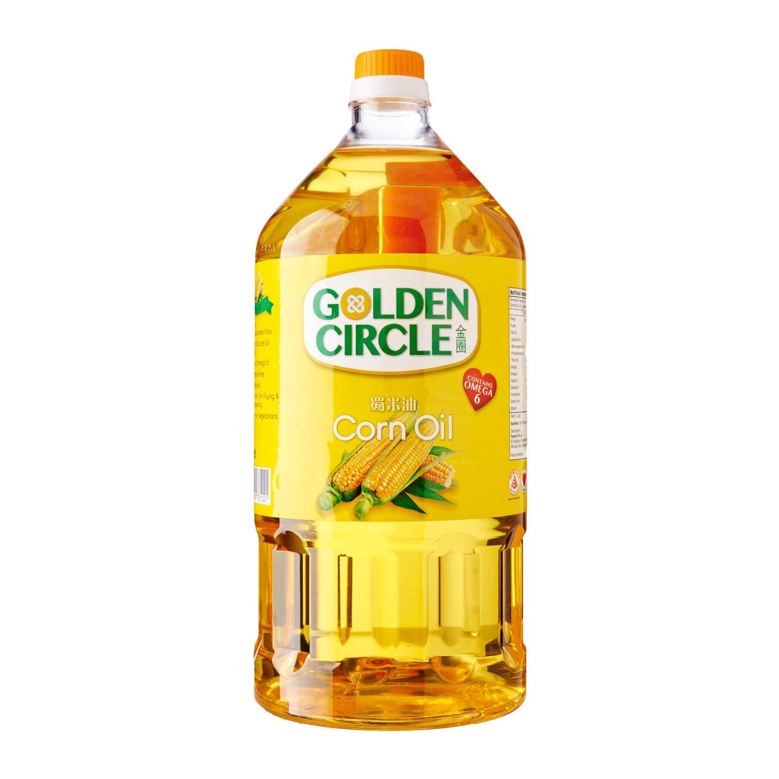 Golden Circle 100% Pure Corn Oil By Redmart.