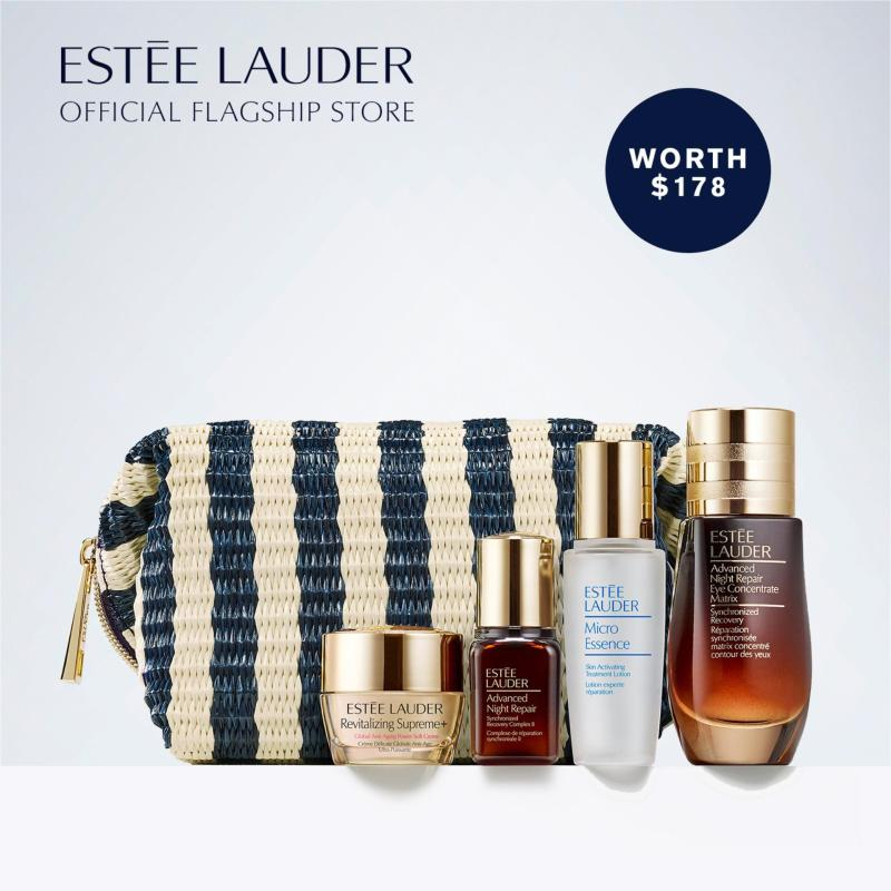 Buy [LIMITED EDITION] Estee Lauder Advanced Night Repair Eye Concentrate Matrix Synchronized Recovery 15ml Set (Worth $178) | Estee Lauder Beautiful Eyes: Repair + Renew For a Fresh, Wide-Open Look Singapore