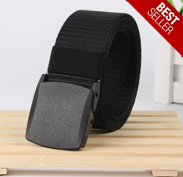 Trendy And Simplistic Mens Canvas Automatic Buckle Belt By Goodstuff99.