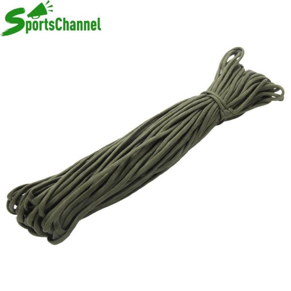 Paracord 550 Parachute Cord Lanyard Rope Mil Spec 100FT Survival Rope - intl