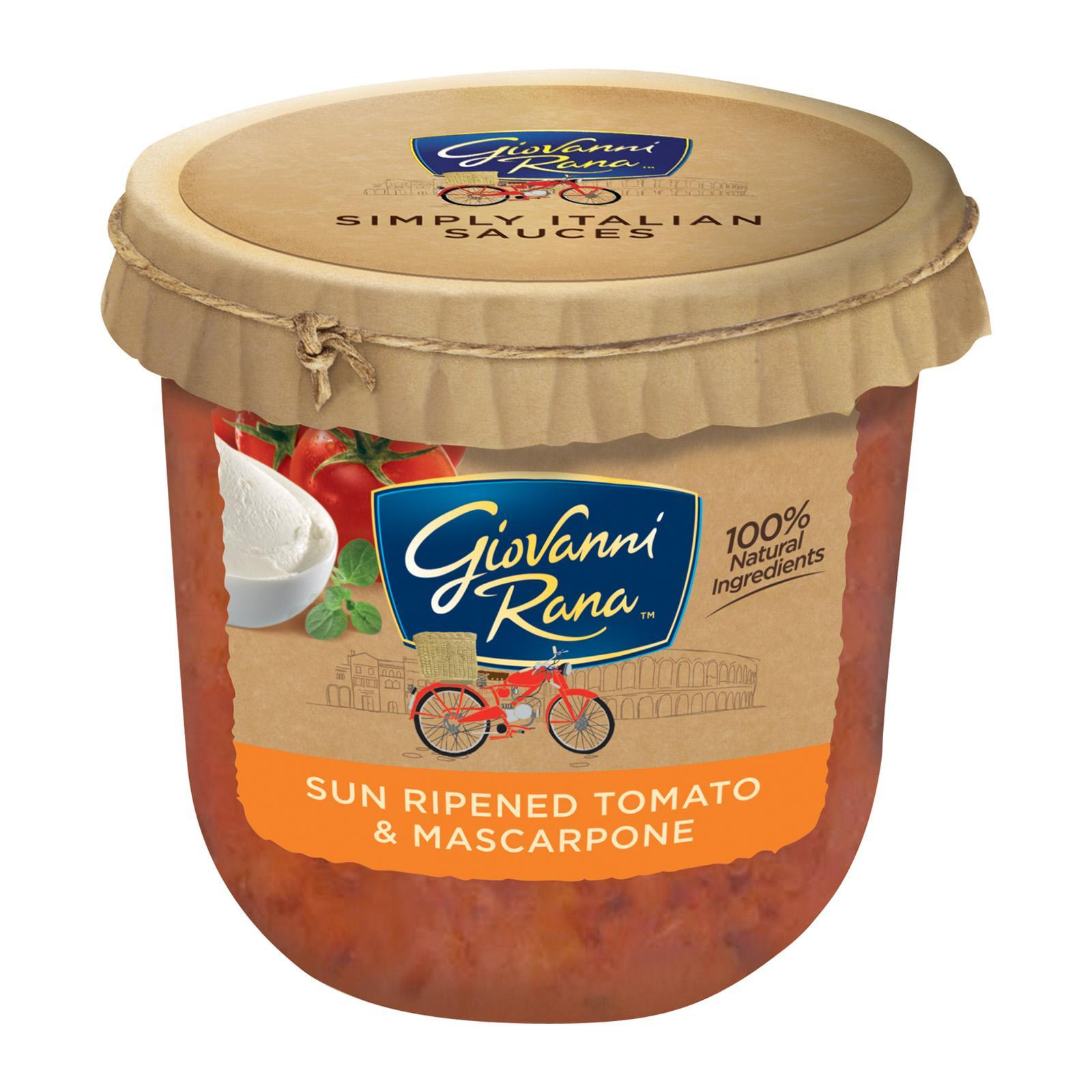 Giovanni Rana Simply Italian Sauce Sun Ripened Tomato And Mascarpone By Redmart.
