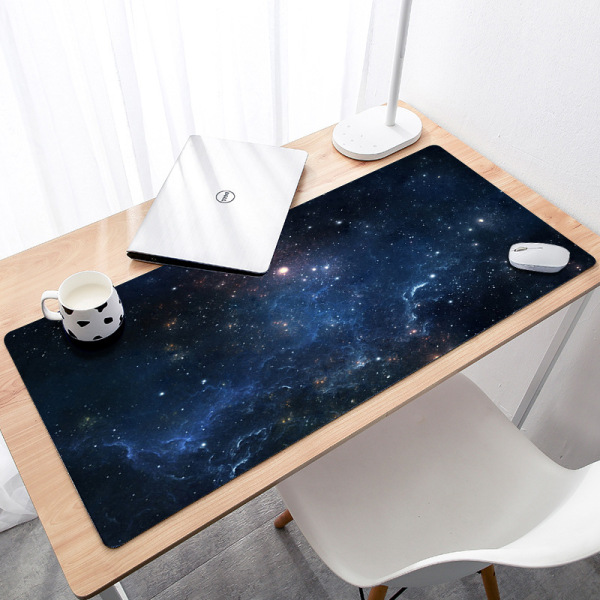900x400x3mm Large Gaming Mouse pad Purple Star Space Waterproof Extended Lock Edge Computer Desk Notbook Table Cup Mat Malaysia