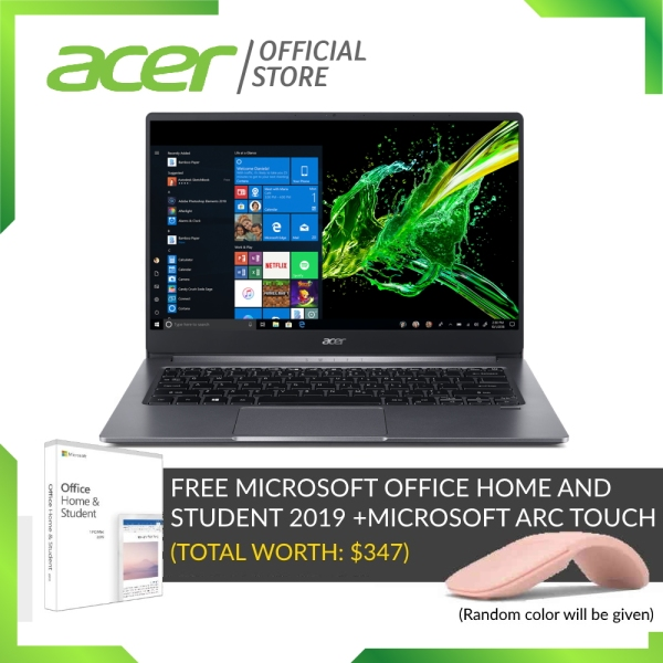 [LATEST MODEL] Acer Swift 3 SF314-57G-778F Thin and light laptop with LATEST 10th gen Intel i7-1065G7 processor and 16GB RAM