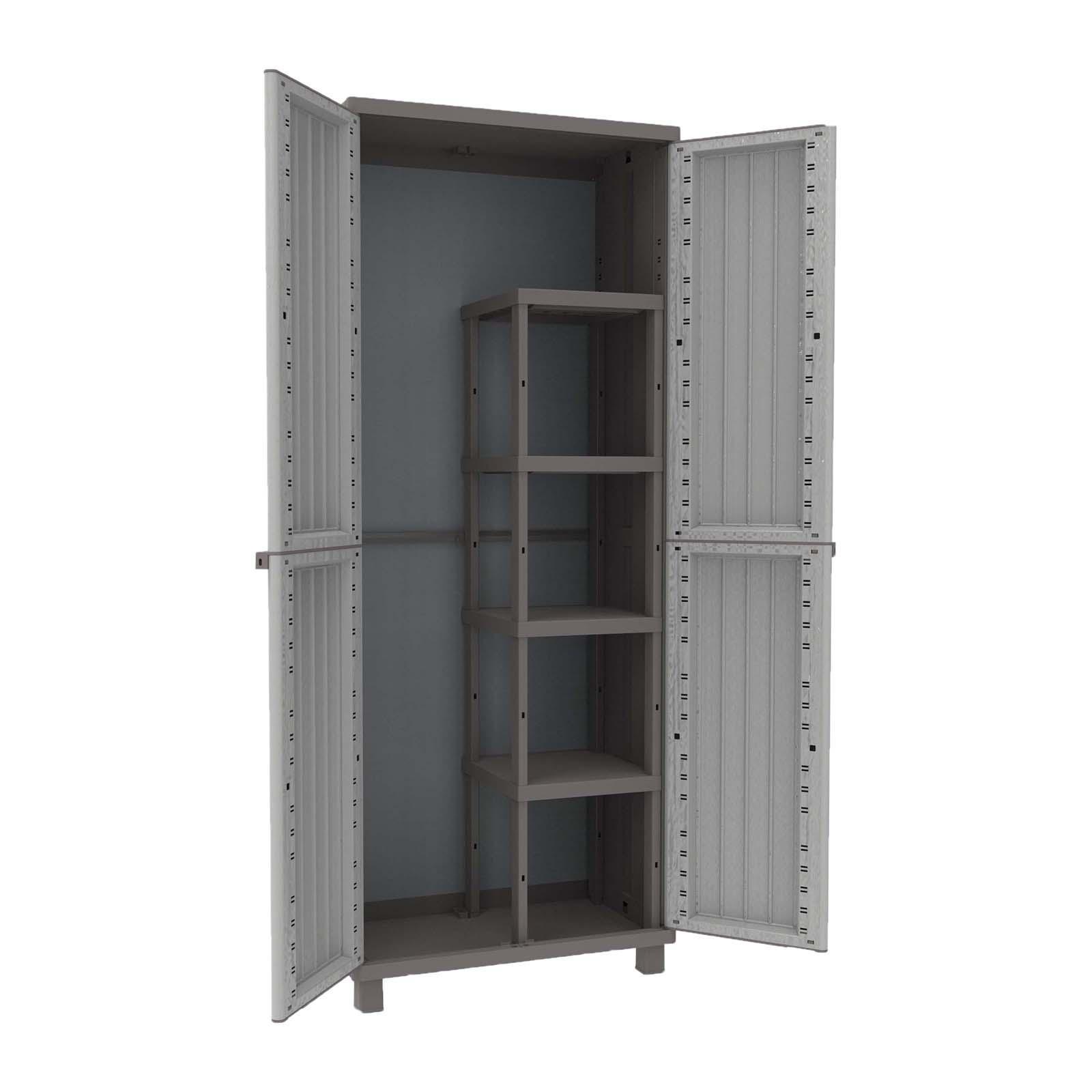 Terry Jwood 368 Outdoor Cabinet 2 Door And Shelving Tr2716