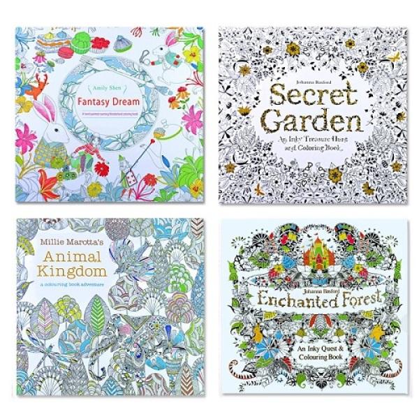 [SG Seller] Secret Garden Coloring Books Adult Children 9 books