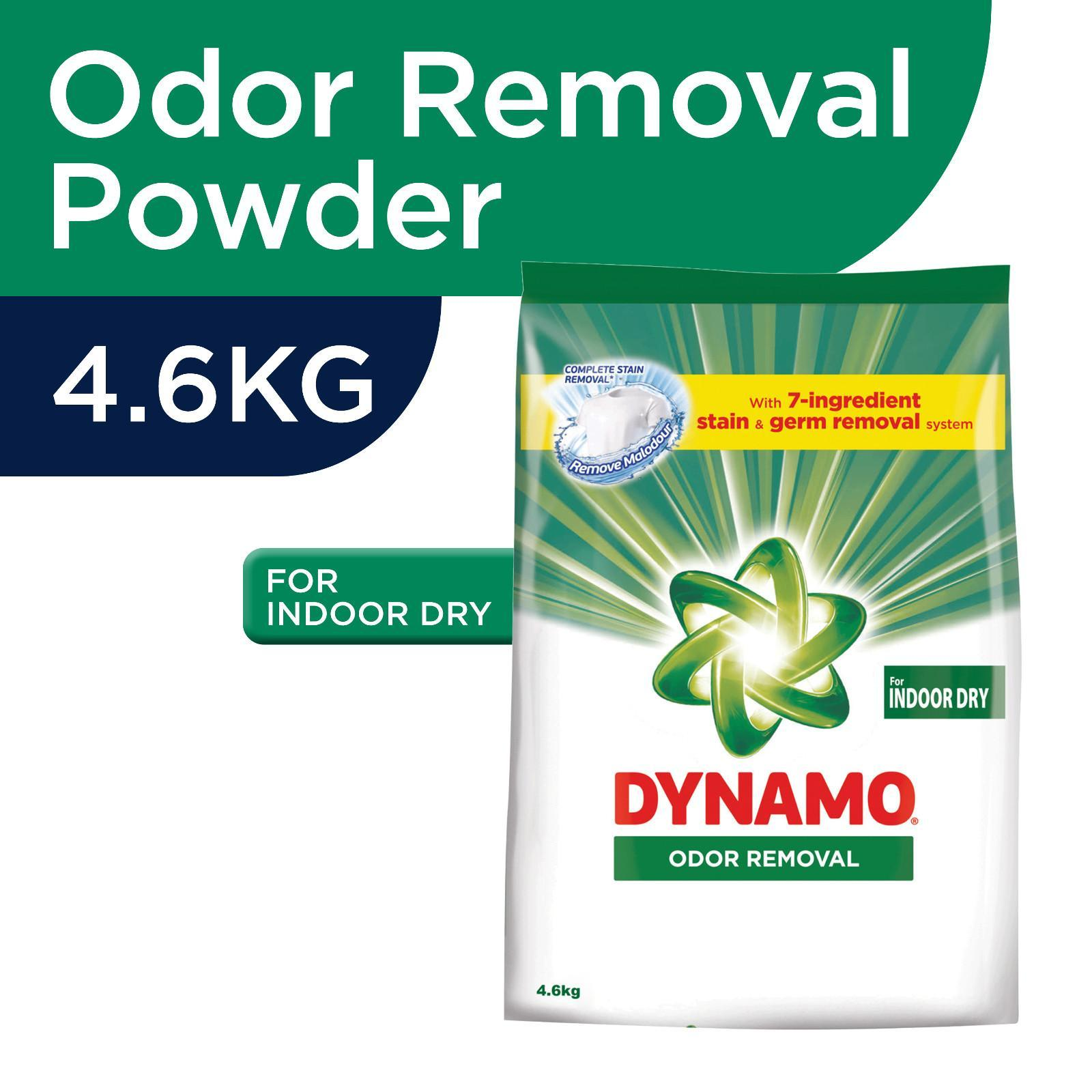 Dynamo Powder Odor Removal for Indoor Dry Laundry Detergent