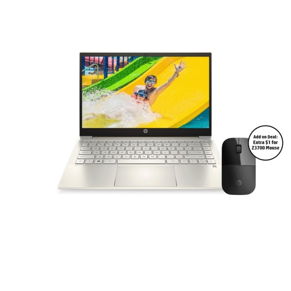HP Pavilion Laptop 14-dv0015TU / 11th Gen Intel i5-1135G7 / 16GB RAM / 1TB SSD / 14 FHD / Win 10/Long Battery
