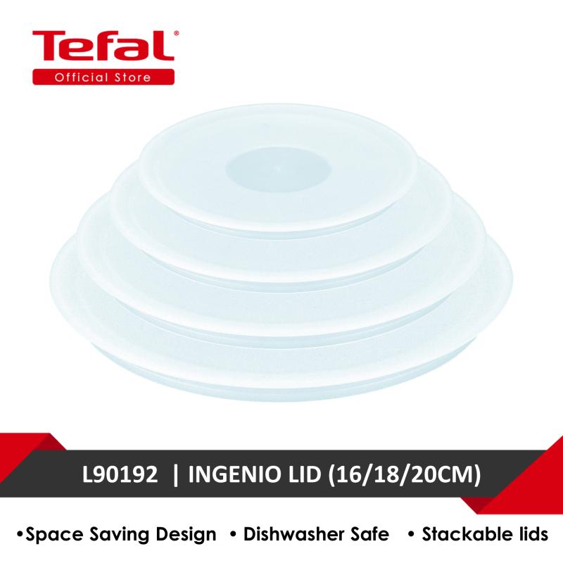 Tefal Ingenio Plastics Lids (16/18/20CM) L90192 Singapore