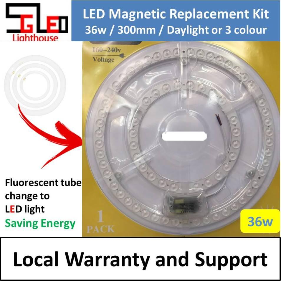 LED Magnetic Replacement Kit 36w 300mm LED Ceiling Light