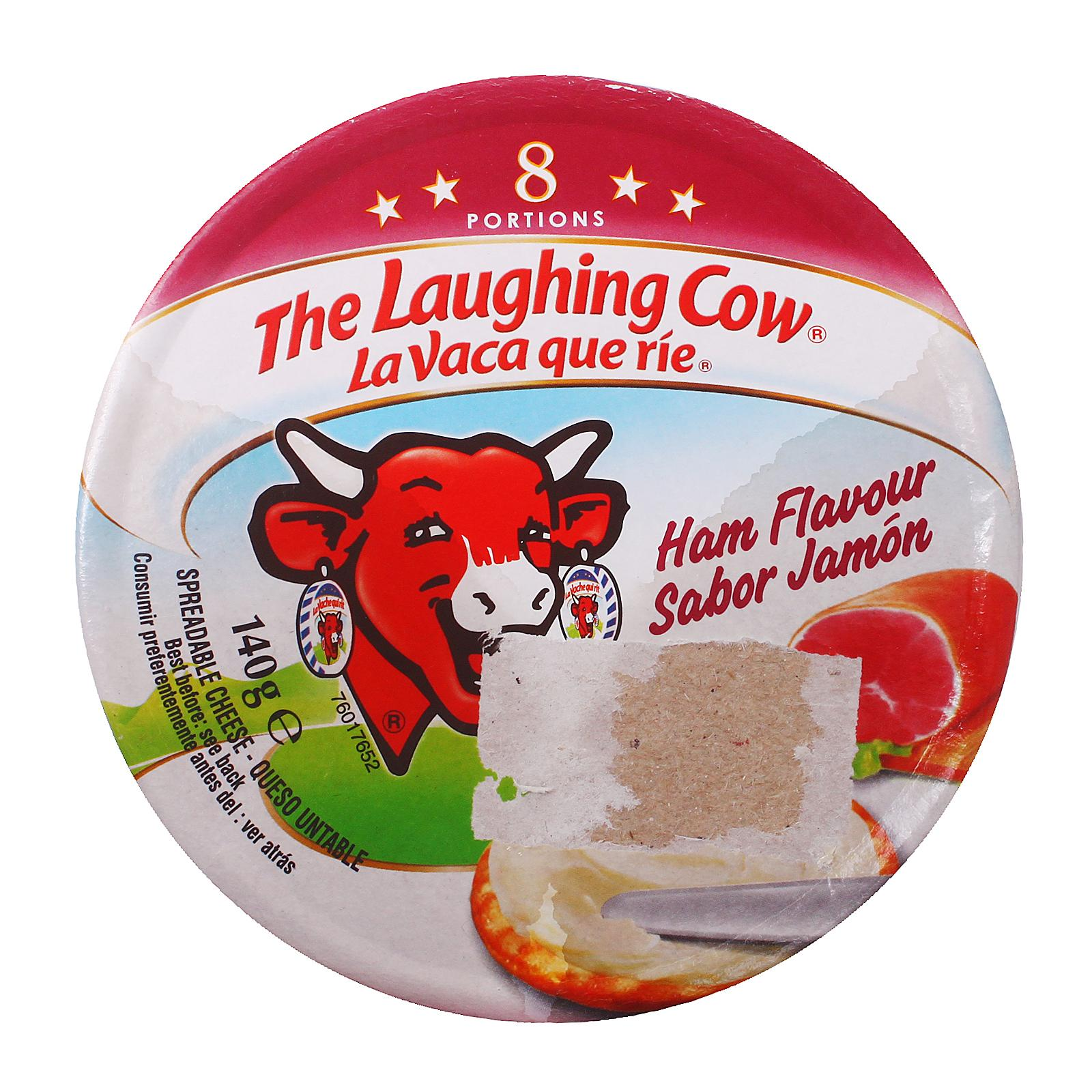 Laughing Cow Cheese Spread Ham 8 pcs