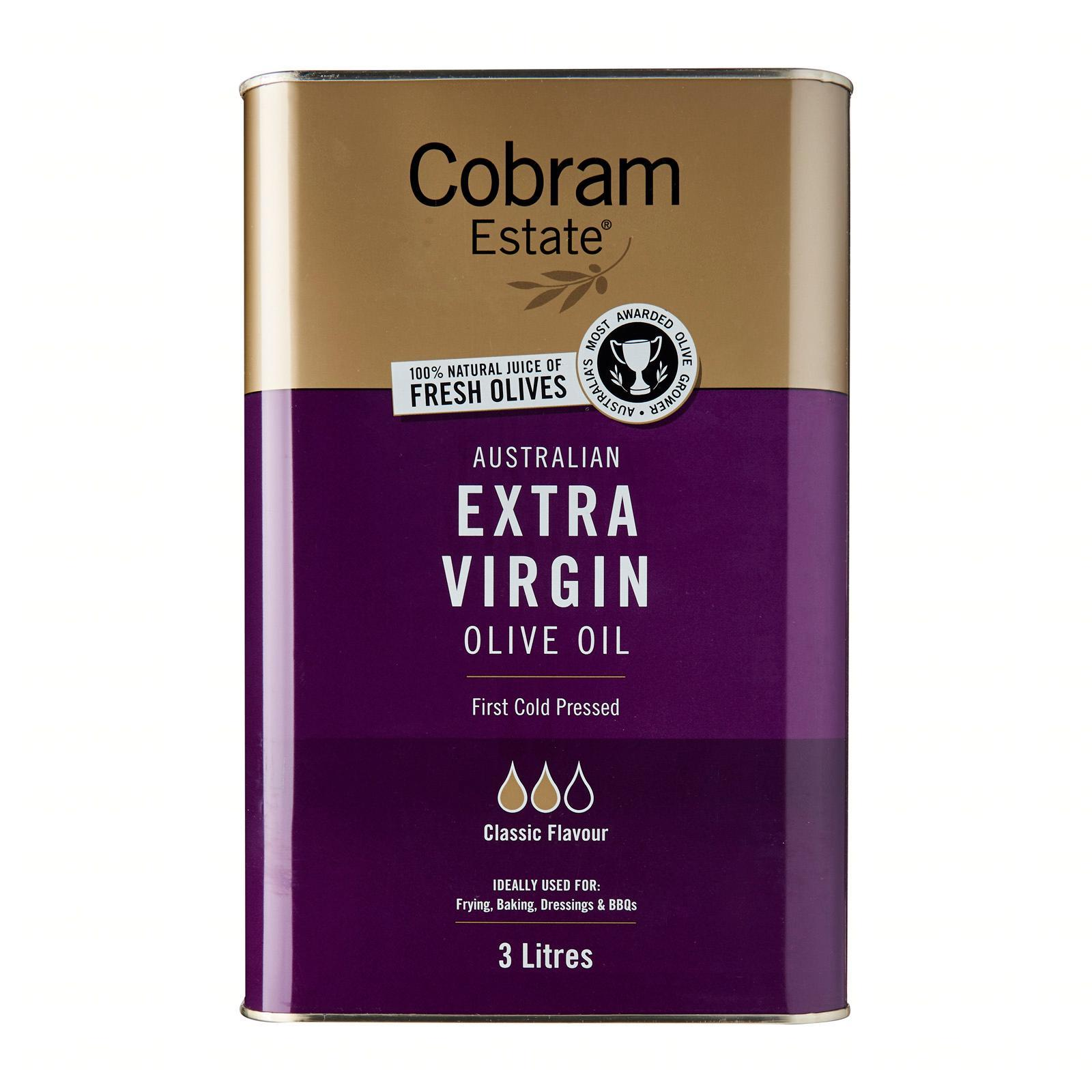 Cobram Estate Australian Classic Extra Virgin Olive Oil - 3 L