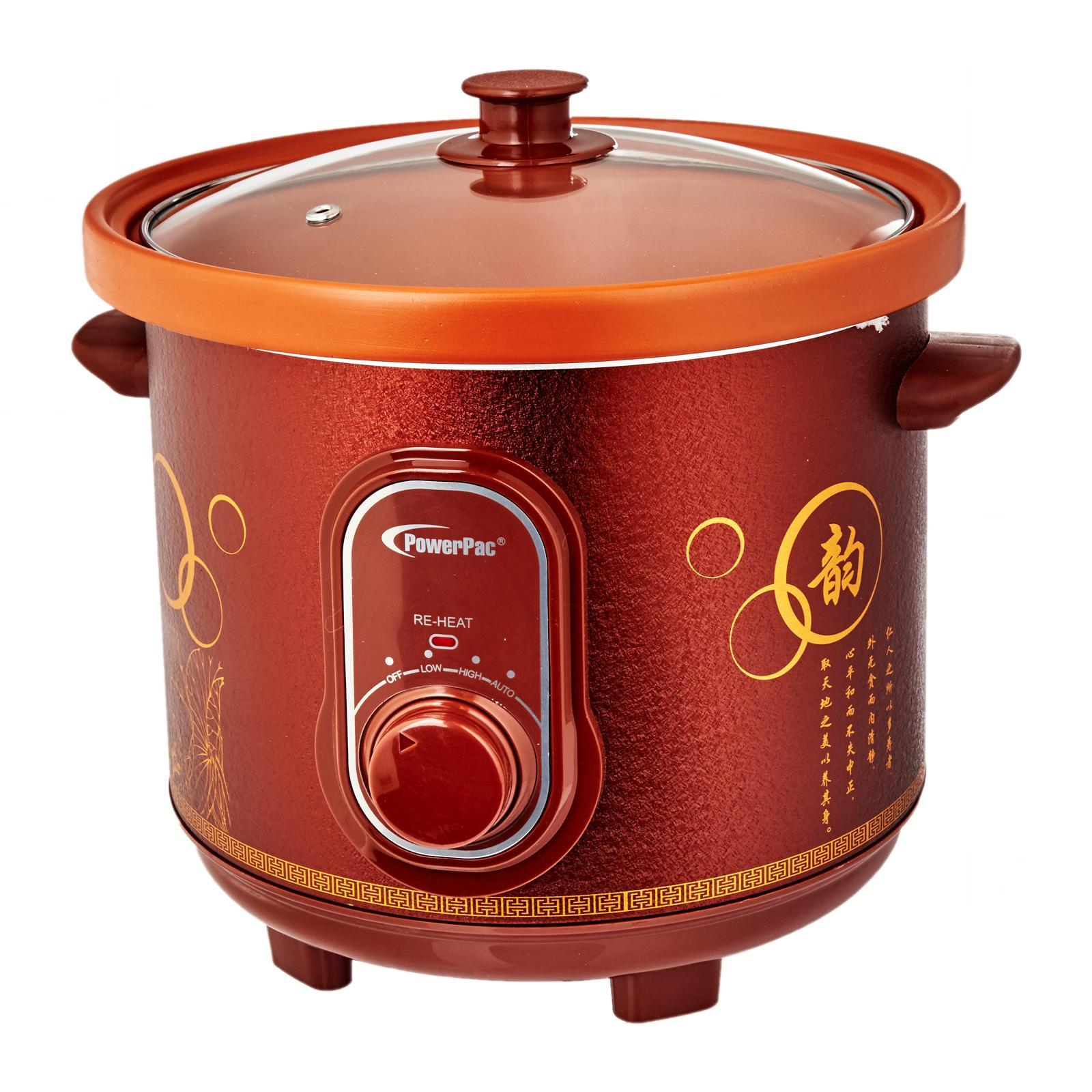 PowerPac 3.5L Slow Cooker With Ceramic Pot (Ppsc35)
