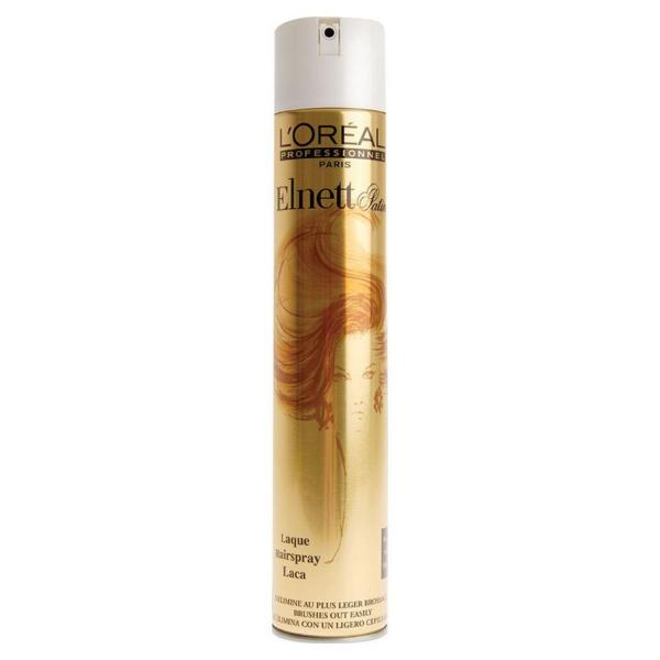 Buy L'Oreal Professional Elnett Hairspray 500ml - Long-Lasting Hold • Shiny Finish • Soft Touch • Micro-Diffuser Sprays Ultra-Fine Loreal Lacquer• Extra Root-Lift Volumised Styling Effect Singapore