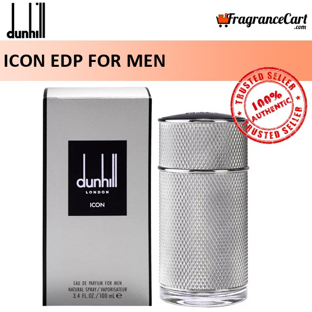 Dunhill Icon Edp For Men (100ml) Eau De Parfum Alfred Iconic Silver [brand New 100% Authentic Perfume/fragrance].