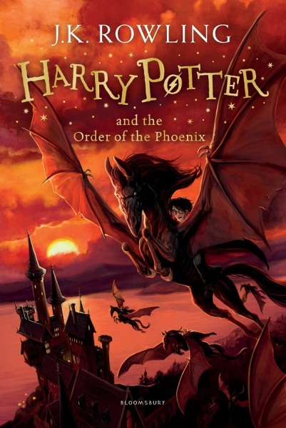 Harry Potter and the Order of the Phoenix (Book 5) / English Young Adult Books / (9781408855690)