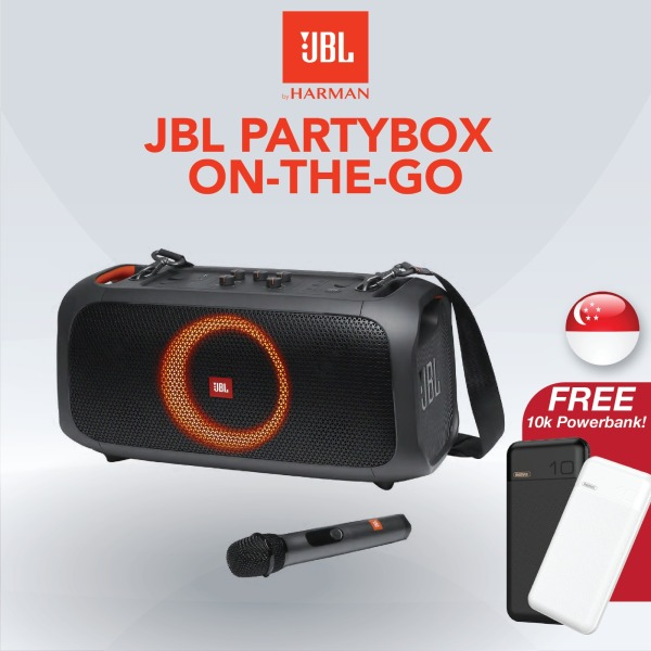 [SG] JBL PartyBox On-The-Go Portable Wireless Bluetooth Speaker Singapore