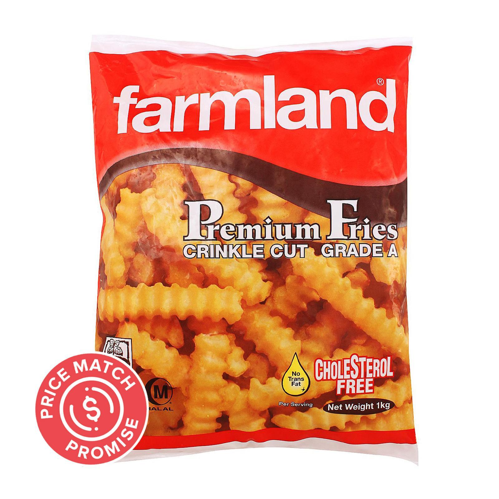 Farmland Premium Fries - Crinkle Cut 1KG