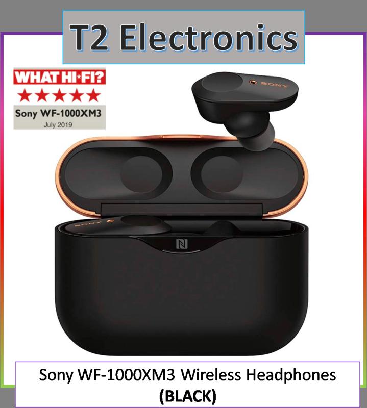 Sony WF-1000XM3 Wireless Noise Cancelling Headphones - T2 electronics Singapore
